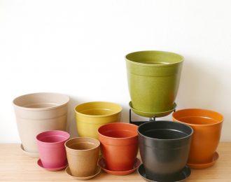 Vaso naturale biodegradabile