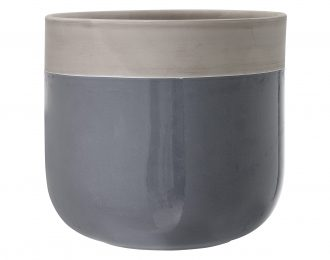 Coprivaso in terracotta 21,5 cm e 27,5 cm