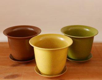 Vaso naturale biodegradabile Vipot 12 cm