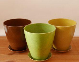 Vaso naturale biodegradabile Vipot 14 cm